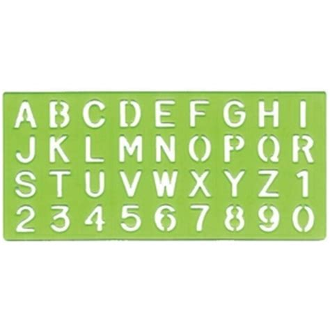 architectural lettering template alvin lettering stencil set of 4 and
