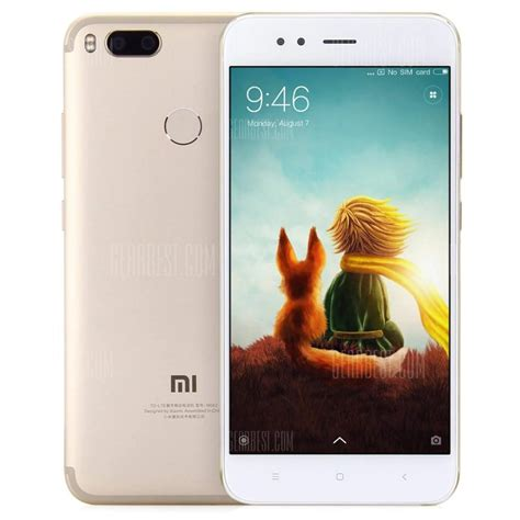 Promo Xiaomi Mi 5x Mi A1 Limited 204 with coupon for xiaomi mi a1 4g phablet global version 4gb 64gb gold from gearbest