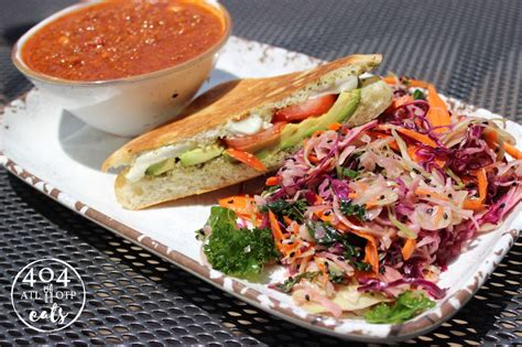 Farm To Ladel Detox Slaw by Turkey Chili Avocado Caprese Sandwich And A Side Of The