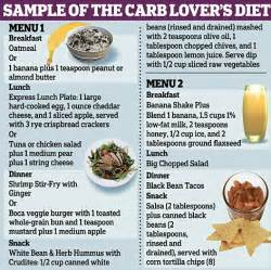 forget atkins carbs could help you lose weight daily mail
