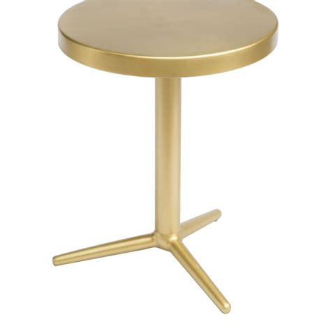 brass accent table derby accent table brass 405001 zuo modern contemporary