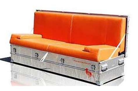 couch in a box portable blow up furniture sofa in a box or bag lets you