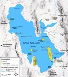 us map great salt lake great salt lake map