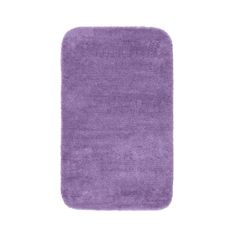 Purple Bath Rugs Garland Rug Traditional Purple 30 In X 50 In Washable Bathroom Accent Rug Dec 3050 09 The