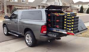 Truck Accessories Vaughan Highway Products Redesigns 4 000 Pound Capacity Cargo Tray