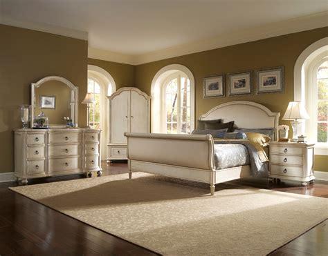 upholstered bedroom set provenance upholstered sleigh bedroom set from