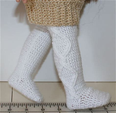 tights pattern for 18 doll ravelry crochet cable tights for 18 quot dolls pattern by