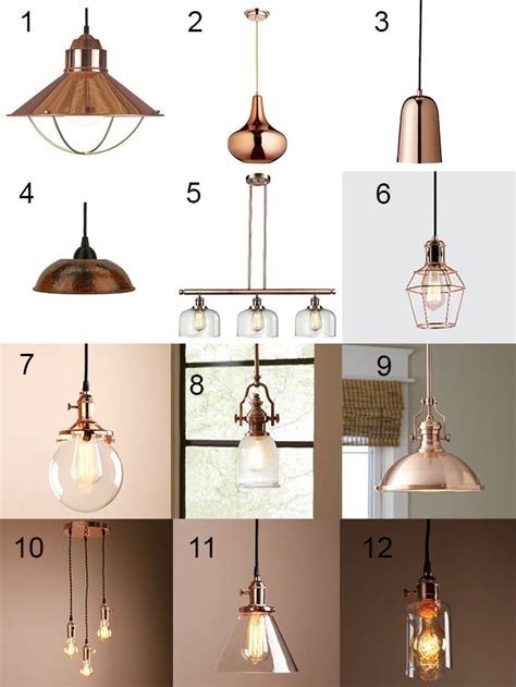 Copper Kitchen Light Fixtures Best 25 Copper Lighting Ideas On Copper Accessories Copper Decor And Copper Floor L