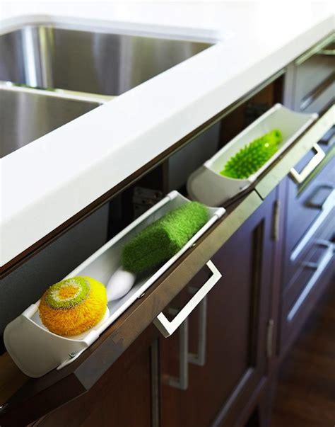 Sponge Drawer by Tilt Out Sponge Drawer Transitional Kitchen