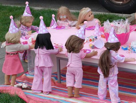 themes of girl american girl birthday party ideas photo 2 of 39 catch