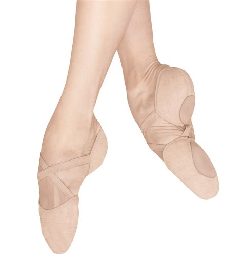 ballet slippers for quot elastosplit x quot canvas split sole ballet slippers shoes