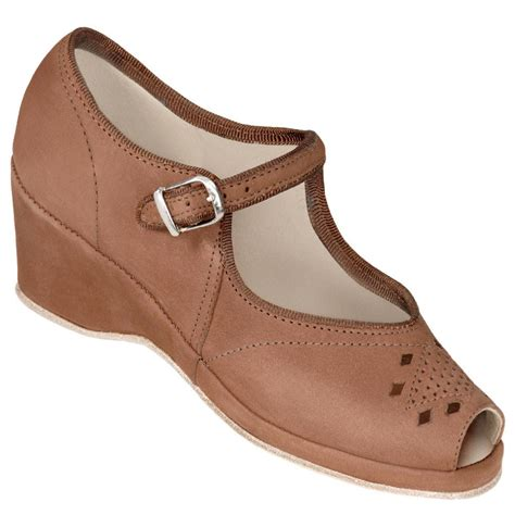 aris allen swing dance shoes aris allen brown nubuc peep toe mary jane wedge swing