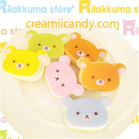 cafe de n squishy supplier rilakkuma jelly sandwich squishy