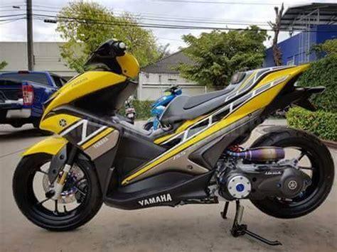 Knalpot Racing Yamaha Aerox 155 Sc Project Fulsystem High Peforma yamaha aerox 155 vva 60th anniversary sangar rubber