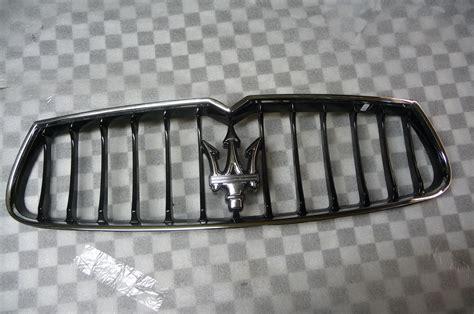 maserati grill emblem maserati ghibli front bumper grille grill with emblem