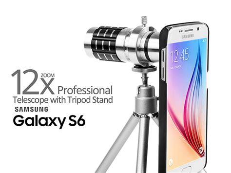 Tripod Samsung Galaxy professional samsung galaxy s6 12x zoom telescope with tripod stand