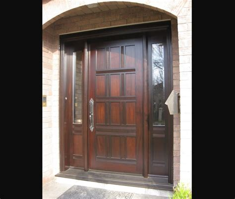 Exterior Side Doors Exterior Doors Side Light Entry Doors Amberwood Doors Inc