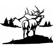 Big Elk HuntingCampingStickerDecalGraphic  EBay