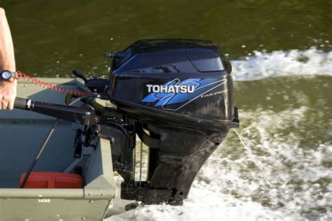 boat motors tohatsu brp evinrude announces deal with tohatsu for small