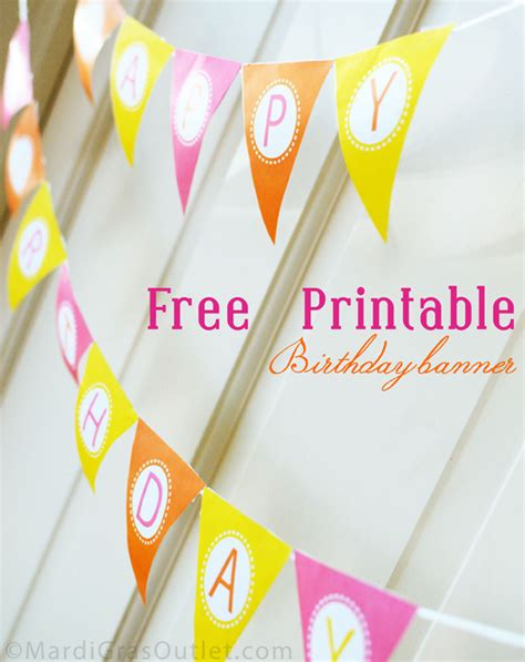 free printable happy birthday banner for cake 15 free birthday printables i heart nap time