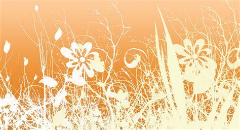 Orang Sunda Vintage adela watkins orange flower wallpaper