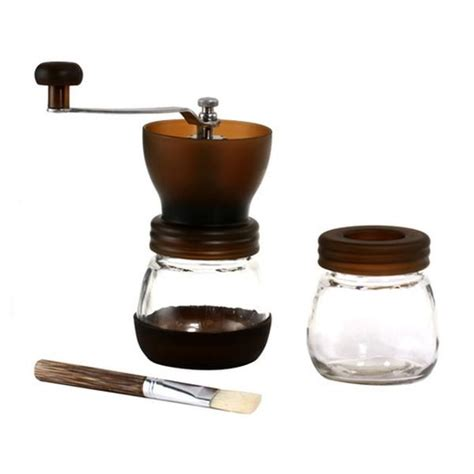 Gater Single Conical Ceramic Burr Manual Grinder Bm155 D gater ceramic burr manual coffee grinder cape coffee beans