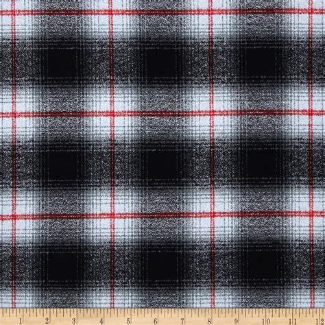 grey flannel upholstery fabric kaufman mammoth flannel plaid grey discount designer