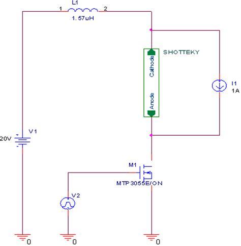 schottky diode ltspice schottky diode spice model 28 images spice models diodes and rectifiers electronics textbook