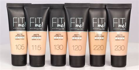Maybelline Fit Me maybelline fit me matte poreless foundation 30ml