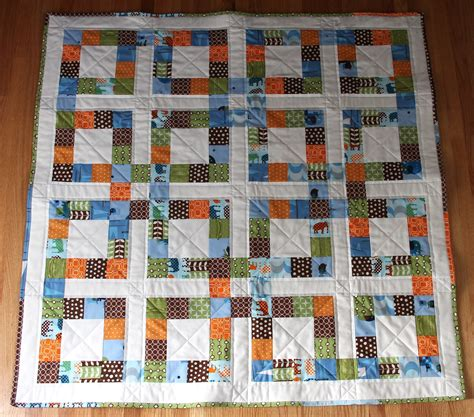 Quilt Squares City House Studio Lucky Square Quilt