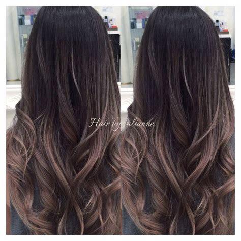 bayalage grey hair hair by julianne cho los angeles ca united states ash