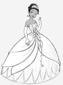 free coloring pages tiana