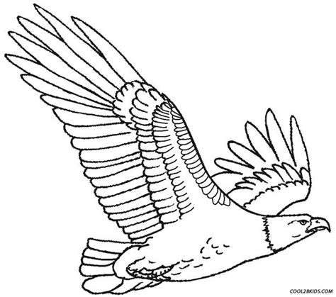 coloring page eagle flying printable eagle coloring pages for kids cool2bkids