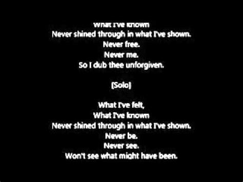 the unforgiven lyrics metallica the unforgiven lyrics