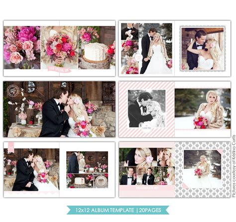 wedding album templates free heartfelt 12x12 wedding album template birdesign