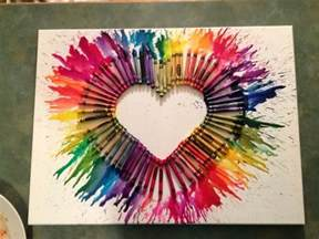 crayon art arts and crafts project favorite crafts