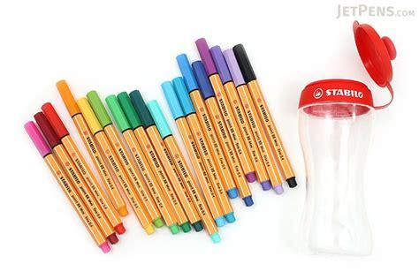 Sale Stabilo Bintang 4 4 stabilo point 88 mini fineliner marker pen 0 4 mm 18 color set sporty jetpens