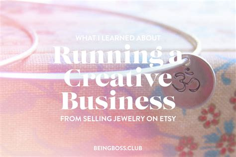 how to make money selling jewelry on etsy what i learned about running a creative business from