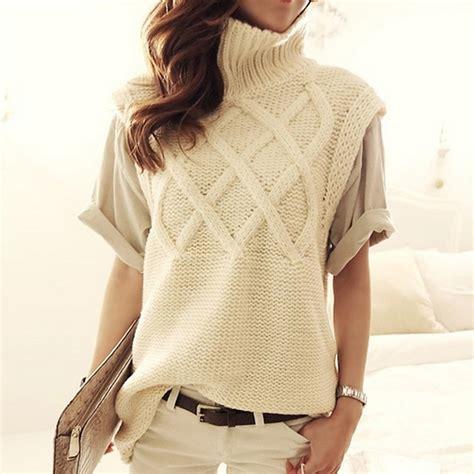 jersey turtleneck pattern women s turtleneck thick warm long knit sweaters pullovers