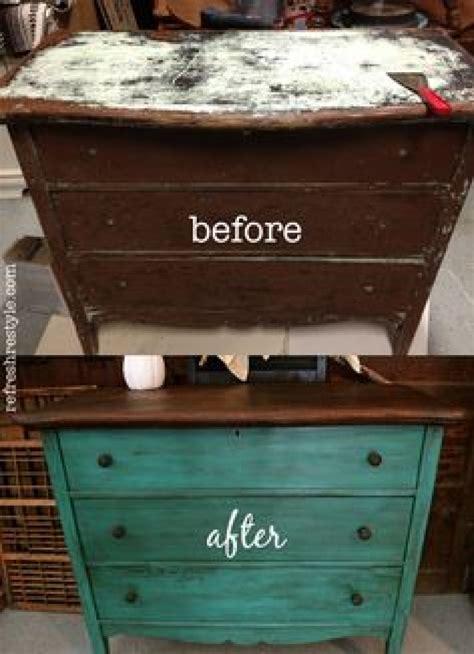 avant apres  renovations danciens meubles pour