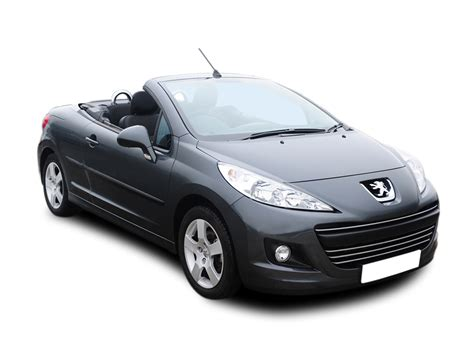 peugeot convertible peugeot 207 1 6 vti allure 2dr leather coupe cabriolet