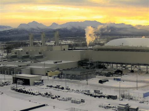 alaska electric light and power utilities advancing transmission co aea refining cost