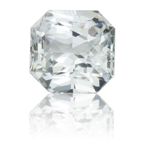 White Sapphire Ceylon 3 ceylon white sapphire square 2 59ct king gems