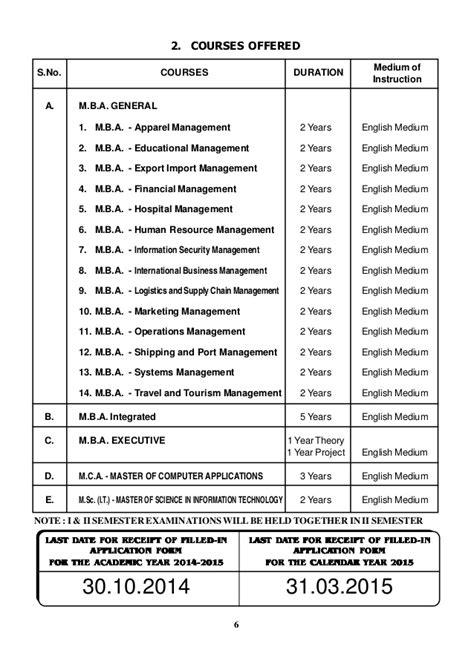 Mba Financial Management Madras by Mba Prospect Prof Madras University Chennai