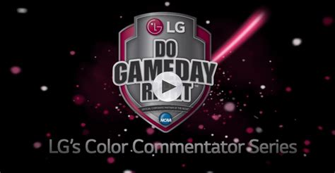 what is a color commentator lg gives team colors a new purpose enlists color