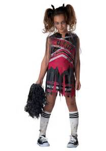 Zombie Cheerleader Costume Spiritless Cheerleader Child Costume
