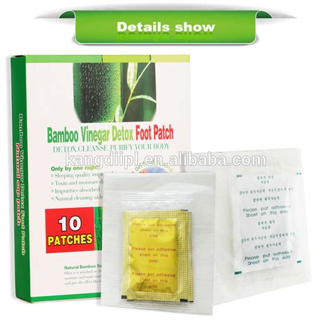 Bamboo Tokyo Foot Patch Gold Detox Herbal health bamboo detox foot patch products china