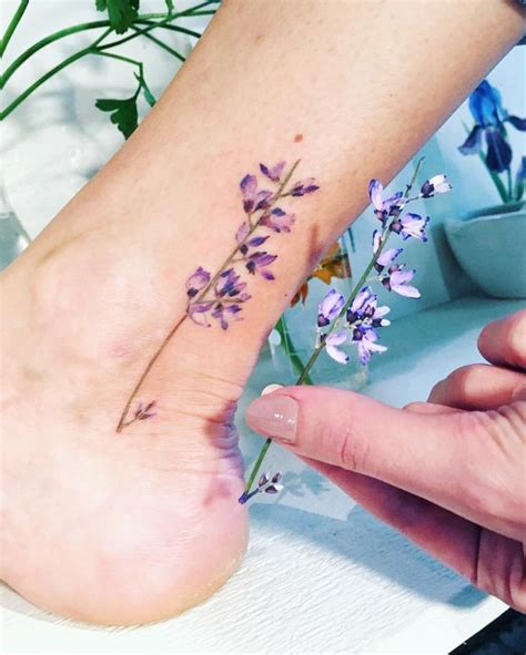 best 25 lilac tattoo ideas on pinterest lavender tattoo
