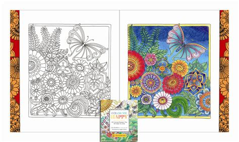 what is a happy color color me happy a zen coloring book books journals