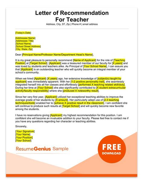 best solutions of sample recommendation letter for outstanding